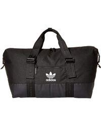 adidas Originals - Originals Weekender Duffel (black) Bags - Lyst