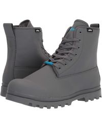 Native Shoes - Johnny Treklite (dublin Grey) Shoes - Lyst