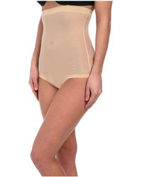 Wolford - Tulle Control Panty High Waist (nude) Women's Lingerie - Lyst