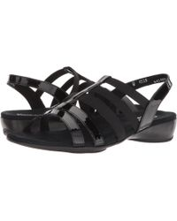 Munro - Bev (silver Combo) Women's Sandals - Lyst