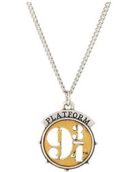 ALEX AND ANI - Harry Potter Platform Expandable Necklace (two-tone) Necklace - Lyst