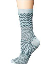 Richer Poorer - Current (blue/yellow) Women's Crew Cut Socks Shoes - Lyst