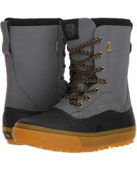 Vans - Standardtm Snow Boot '18 (black/grey (pat Moore)) Men's Snow Shoes - Lyst
