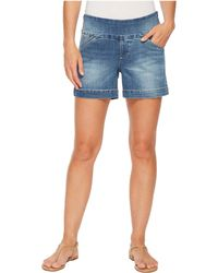 """Jag Jeans - Ainsley Pull-on 5"""" Denim Shorts In Horizon Blue - Lyst"""
