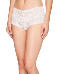 Hanro - Luxury Moments Lace Boyleg 1447 - Lyst