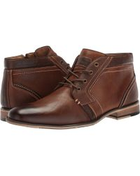 Steve Madden - Jodie (dark Tan) Men's Lace Up Casual Shoes - Lyst
