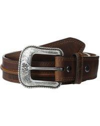 Ariat - Aged Bark Belt - Lyst