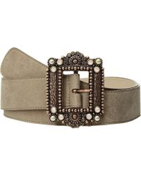 Leatherock - Victoria Belt (hazel) Women's Belts - Lyst