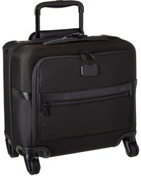 Tumi - Alpha 2 - 4 Wheeled Compact Brief (black) Luggage - Lyst