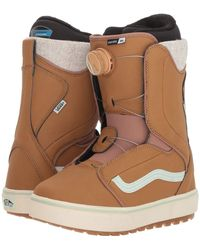 Vans - Encoretm Og '18 (tan/teal) Women's Snow Shoes - Lyst