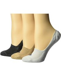 Sperry Top-Sider - 3-pack Performance Cushion Liners (vapor Marl Assorted) Women's No Show Socks Shoes - Lyst