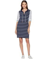 Tommy Bahama - Floricita Stripe Shift Dress (ocean Deep) Women's Dress - Lyst