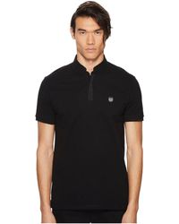 The Kooples - Officer Collar Polo Shirt With Contrasting Trim - Lyst