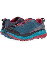 Hoka One One - Stinson Atr 4 (nine Iron/silver Pine) Men's Running Shoes - Lyst