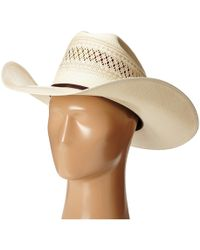 3d28495138657 Ariat - A73112 20x (tan chocolate Band) Caps - Lyst