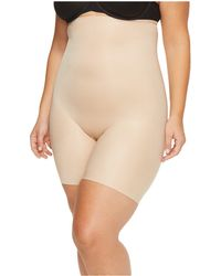 Spanx - Plus Size Power Conceal-her High-waisted Mid Thigh Shorts - Lyst