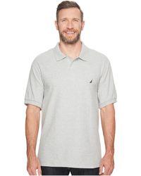 Nautica - Big & Tall Anchor Solid Deck Shirt - Lyst