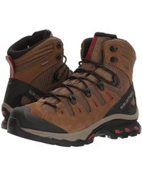 Yves Salomon - Quest 4d 3 Gtx(r) (teak/teak/tibetan Red) Women's Shoes - Lyst