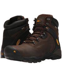 Keen Utility - Louisville 6 Steel Toe (cascade Brown) Men's Lace-up Boots - Lyst