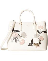 Lauren by Ralph Lauren - Dryden Marcy Satchel Large (taupe/porcini) Satchel Handbags - Lyst