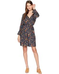 Lucky Brand - Bell Sleeve Dress (multi) Women's Dress - Lyst