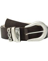 Leatherock - Nikki Belt (chocolate) Women's Belts - Lyst