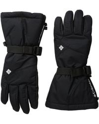 Columbia - Whirlibirdtm Iii Glove (black 2) Extreme Cold Weather Gloves - Lyst
