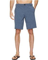Hurley - Phantom Hybrid Walkshorts (faded Spruce) Men's Shorts - Lyst