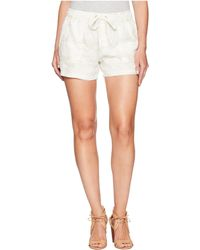 Sanctuary - Pull-on Trooper Shorts (white Camo) Women's Shorts - Lyst
