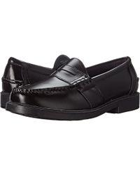 Nunn Bush - Lincoln Penny Loafer (burgundy Polished Leather) Men's Slip-on Dress Shoes - Lyst
