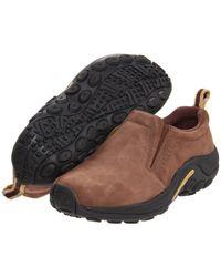 9725644564 Merrell - Jungle Moc Nubuck (black blue) Women s Shoes - Lyst