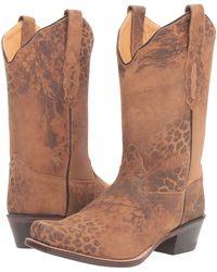 Old West Boots - 18009 (leopard Print) Cowboy Boots - Lyst