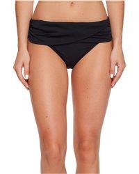 Bleu Rod Beattie - Kore Sarong Hipster Bikini Bottom (navy) Women's Swimwear - Lyst