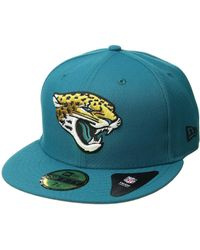 KTZ - 5950 Nfl Basic Jacksonville Jaguars (team Color) Baseball Caps - Lyst
