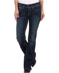Ariat - R.e.a.l.tm Riding Jeans Whipstitch (rainstorm) Women's Jeans - Lyst