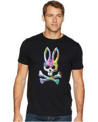 Psycho Bunny - Graphic Tee (black) Men's T Shirt - Lyst
