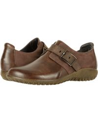 Naot - Tane (oily Coal Nubuck/black Suede/black Madras Leather/shiny Black Le) Women's Shoes - Lyst