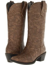 Roper - Western Embroidered Fashion Boot - Lyst