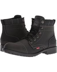 Levi's - Levi's(r) Shoes Artesia Ul (navy) Men's Lace-up Boots - Lyst