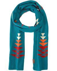 Pendleton - Knit Muffler (tucson Turquoise) Scarves - Lyst