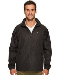Quiksilver - Shell Shock 3 Jacket (black) Men's Coat - Lyst