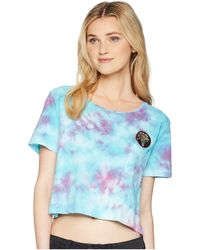 Volcom - Gmj Core Short Sleeve Knit Top - Lyst