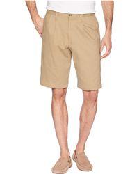 Dockers - Classic Fit Double Pleat Short (white Cap 1) Men's Shorts - Lyst
