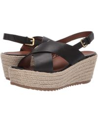 b73f3261fd3 Lyst - Naturalizer Oak Slingback Espadrille Sandals in Brown