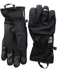 Mountain Hardwear - Plasmic Gore-tex Gloves (black) Snowboard Gloves - Lyst