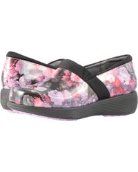 Softwalk - Grey's Anatomy Meredith Sport (purple/pink Floral Patent) Women's Slip On Shoes - Lyst
