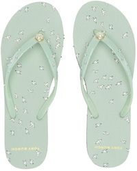 4a5598034 Tory Burch - Printed Thin Flip-flop (ivory Paradise) Women s Sandals - Lyst