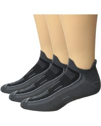 Wrightsock - Endurance Double Tab 3-pack (ash) Crew Cut Socks Shoes - Lyst