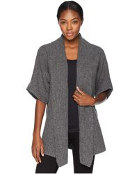 Lyst Neiman Marcus Cashmere San Francisco Skyline Sweater In Gray