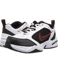 Lyst Nike Air Monarch Iv Blanc/Blanc/cool Gris/volt Training Chaussure